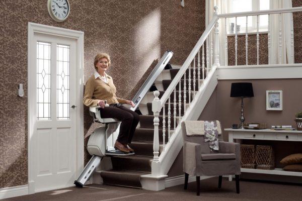 Für gerade Treppen